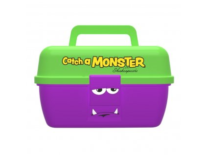 Dětský kufřík Shakespeare Catch a Monster Purple Tackle Box (Varianta Dětský kufřík Shakespeare Catch a Monster Purple Tackle Box)