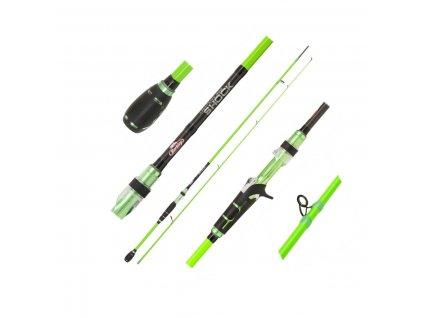 Přívlačový prut Berkley Lighting Shock Green Cast 2,00m 10-30g (Varianta Přívlačový prut Berkley Lighting Shock Green Cast 2,00m 10-30g)