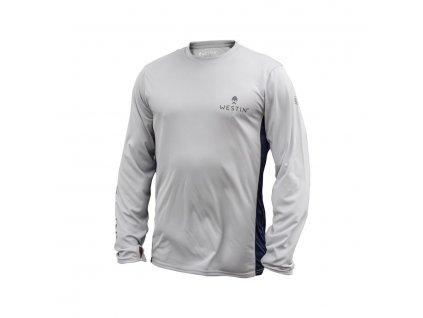 Westin: Tričko Pro UPF Long Sleeve Grey/Navy Blue Velikost L