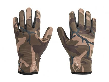 Camo Thermal Gloves (Varianta Fox Camo Thermal Camo Gloves XL)