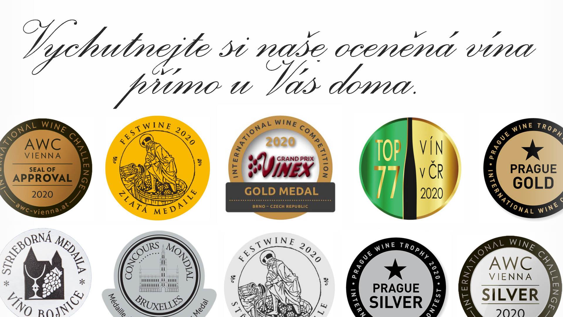 Výběr oceněných vín Pod Kumstátem