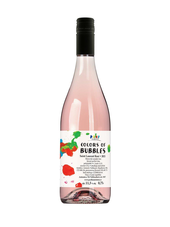 color of bubbles zweigeltrebe rose mzv black