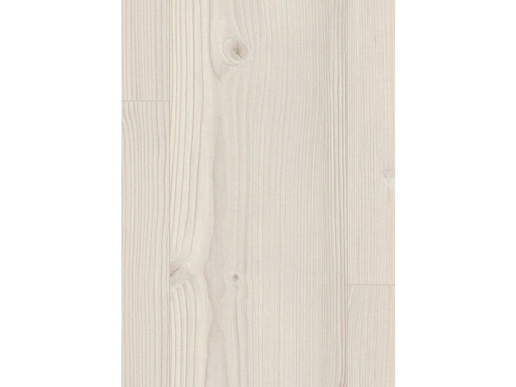 Laminátová podlaha - EGGER PRO LAMINATE 2021+ / CLASSIC 8/32 4V / Borovica Inverey biela EPL028