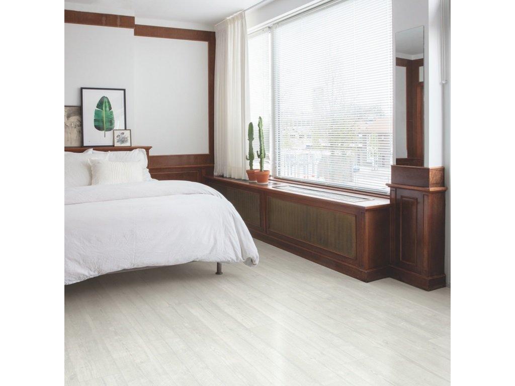 Vinylová podlaha - Quick Step / VINYL FLEX PULSE GLUE+ 2,5/33 4V AQ / borovica snežná PUGP40204