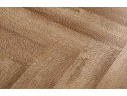 Kompozitná podlaha - Econ Floor / Herringbone 4/41 / Dub Fishbone 2607