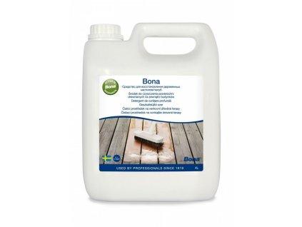 Bona čistič na drevené terasy 4L BO09