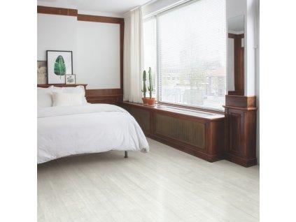 Vinylová podlaha - Quick Step / VINYL FLEX PULSE CLICK+ 4,5/33 4V AQ / borovica snežná PUCP40204