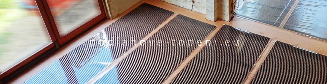Podlahové topení pod plovoucí podlahy