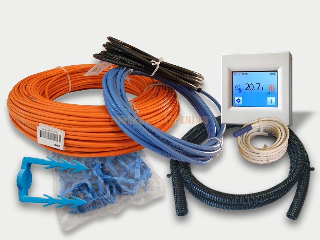 Sada CablePack CP0640-5 pro instalaci do anhydritových a betonových podlah