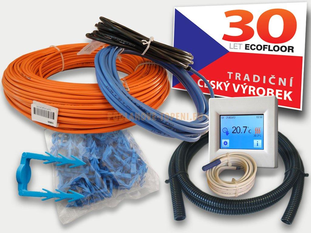 Sada CablePack CP2500-16 pro instalaci do anhydritových a betonových podlah