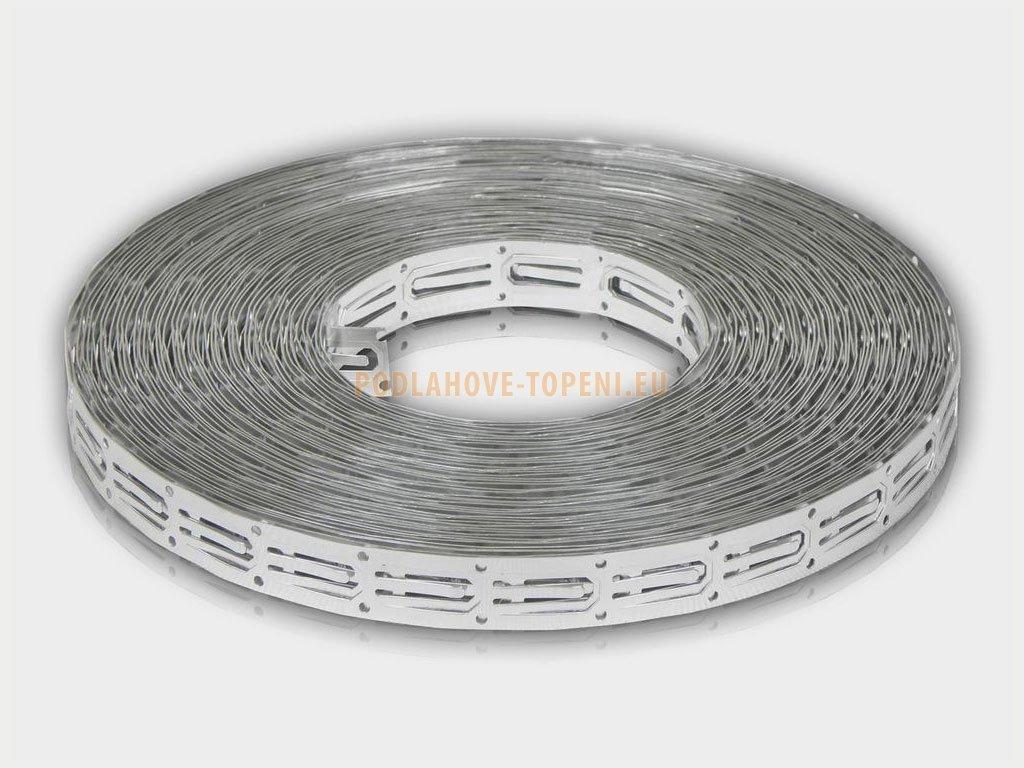 CableFix AL 25, hliníkový fixační pásek. Balení 10 m