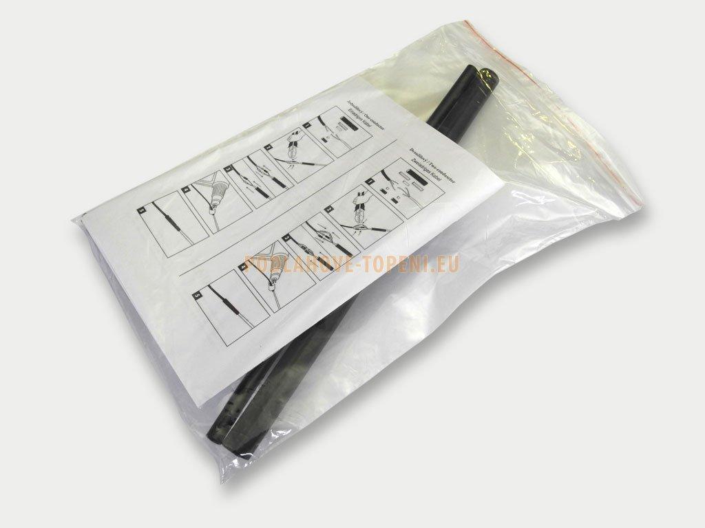 Opravný KIT č. 2 určen pro opravu topného kabelu s ochranným opletením