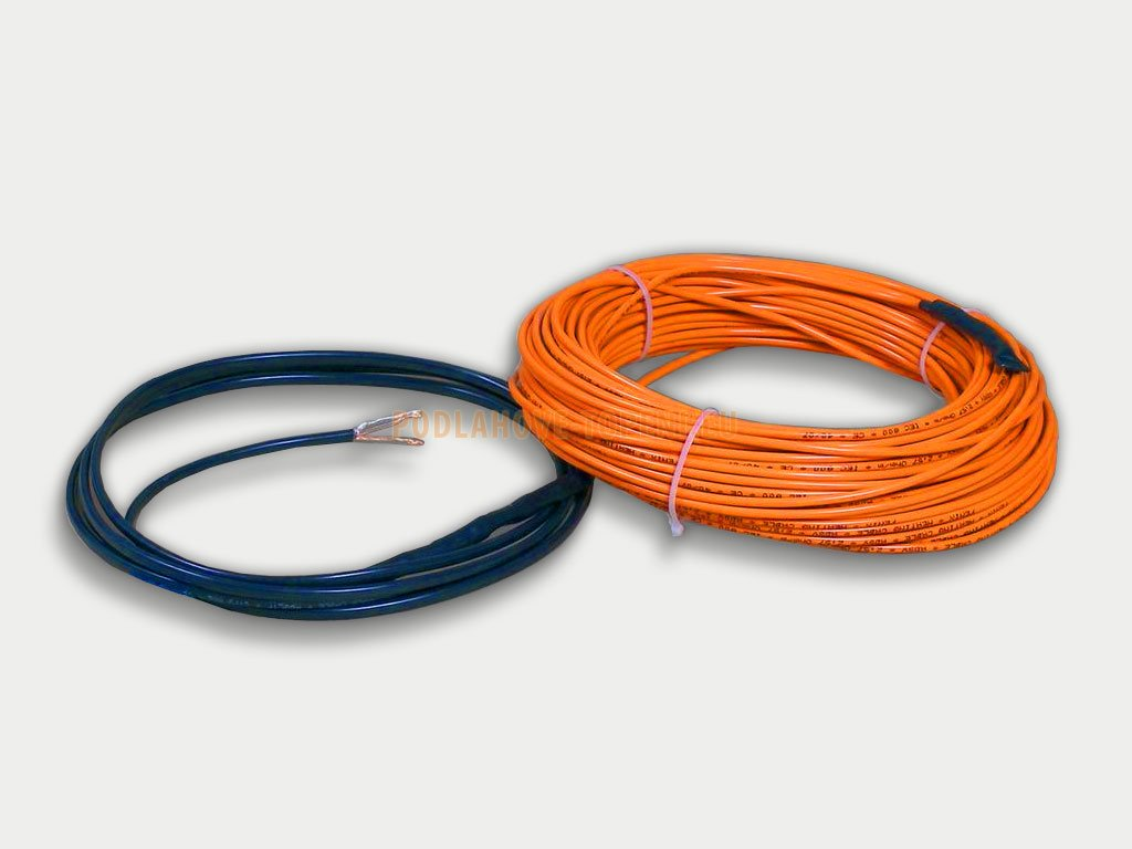ADSV 101100 Topný kabel s ochranným opletením, 1100W, 10W/m, 114,5m