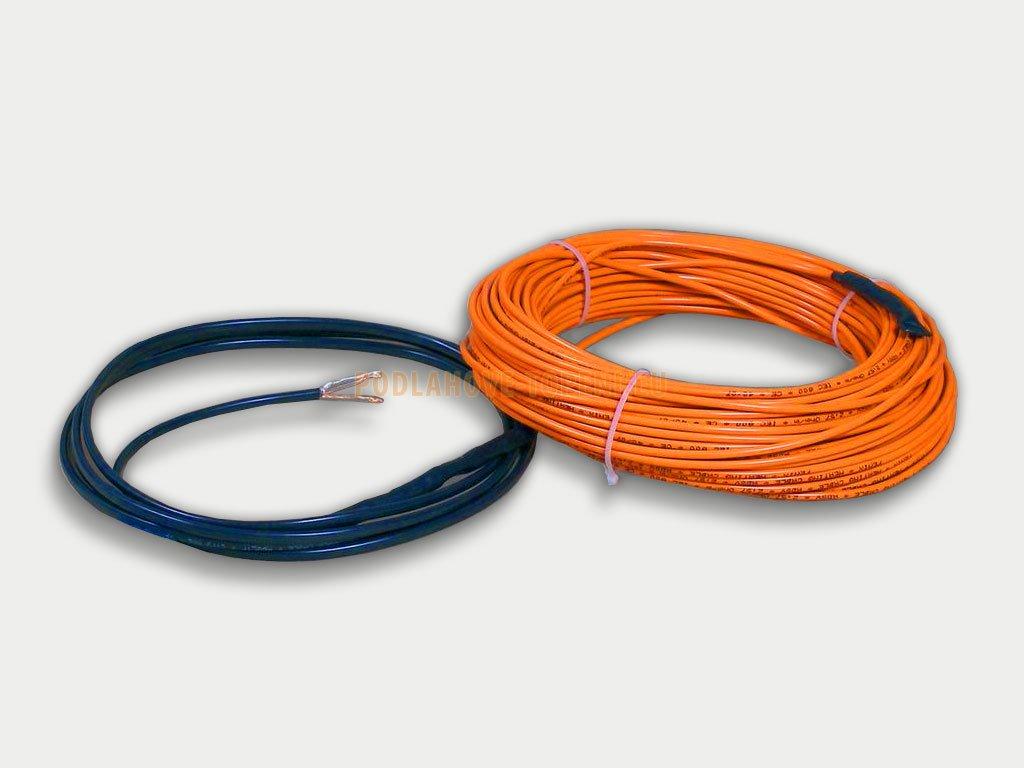 ADSV 101300 Topný kabel s ochranným opletením, 1300W, 10W/m, 131,3m