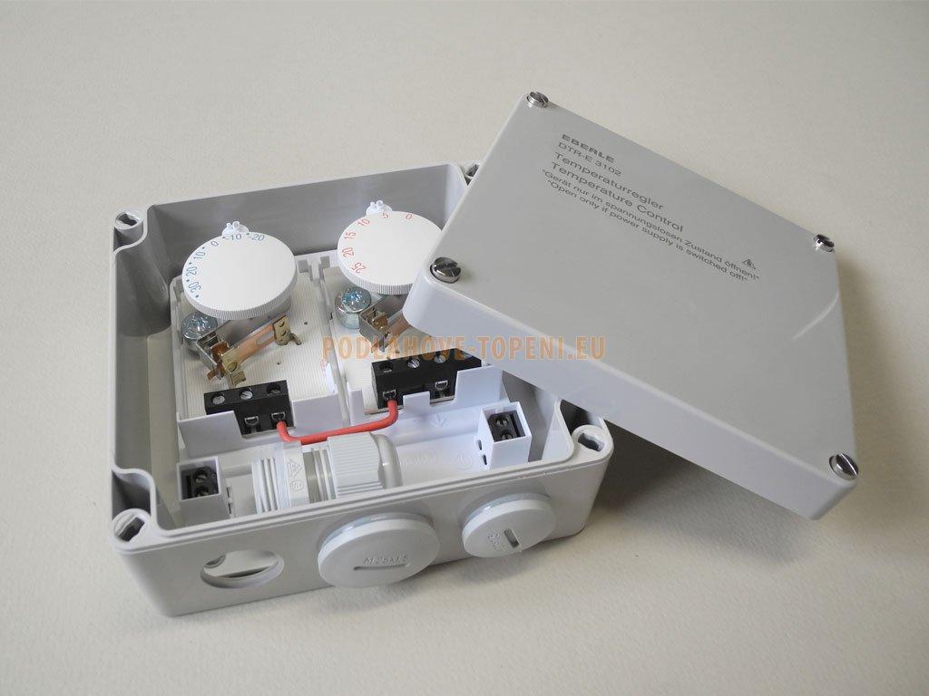 Diferenční termostat Eberle DTR-E 3102