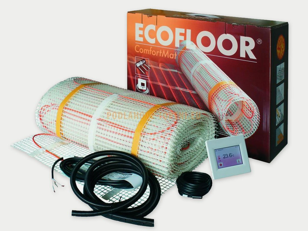 Comfort Mat LDTS 8820-105, sada 8,2m2 pro instalaci elektrického podlahového topení (kuchyň, chodba)