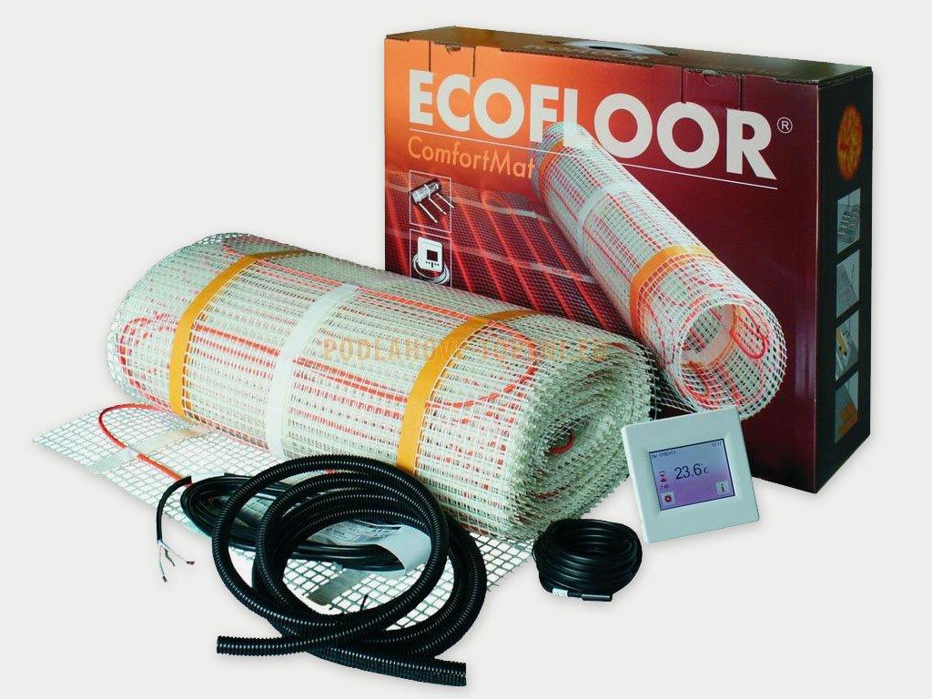 Comfort Mat 160/7,6 m2 sada topné rohože s termostatem, podlahové topení do koupelny