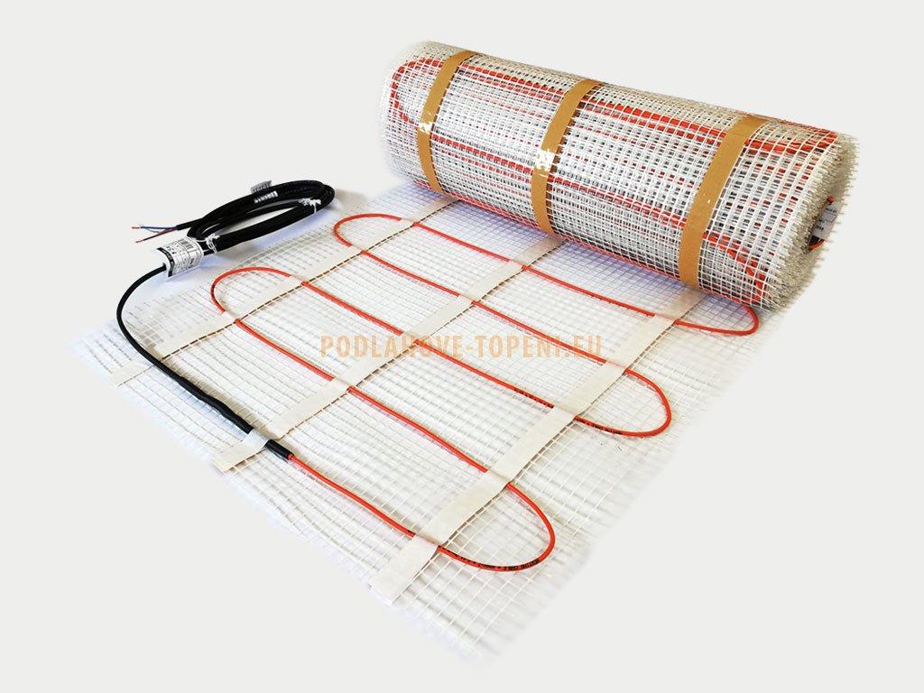 Topná rohož LDTS 80/12,5 - plocha 12,5 m2, elektrické podlahové topení pro novostavby