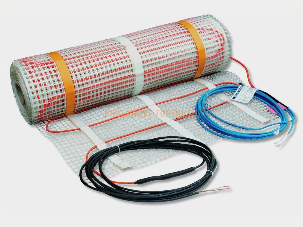 Topná rohož LPSV 80/3 - plocha 3 m2, elektrické podlahové topení do anhydritu a betonu