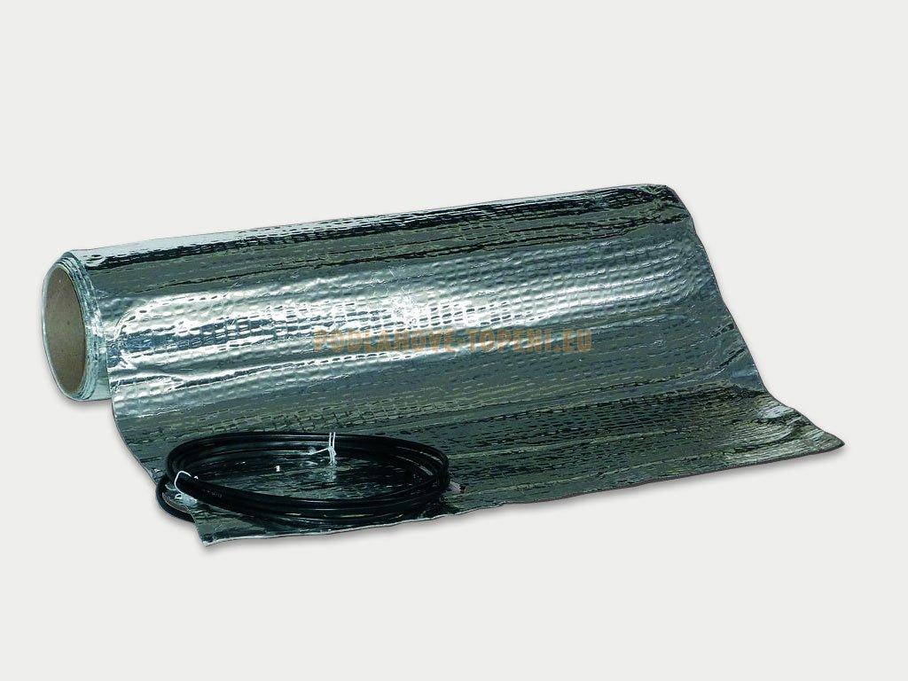 Topná rohož AL MAT 80/10 - plocha 10 m2, podlahové topení pod plovoucí podlahy do koupelny