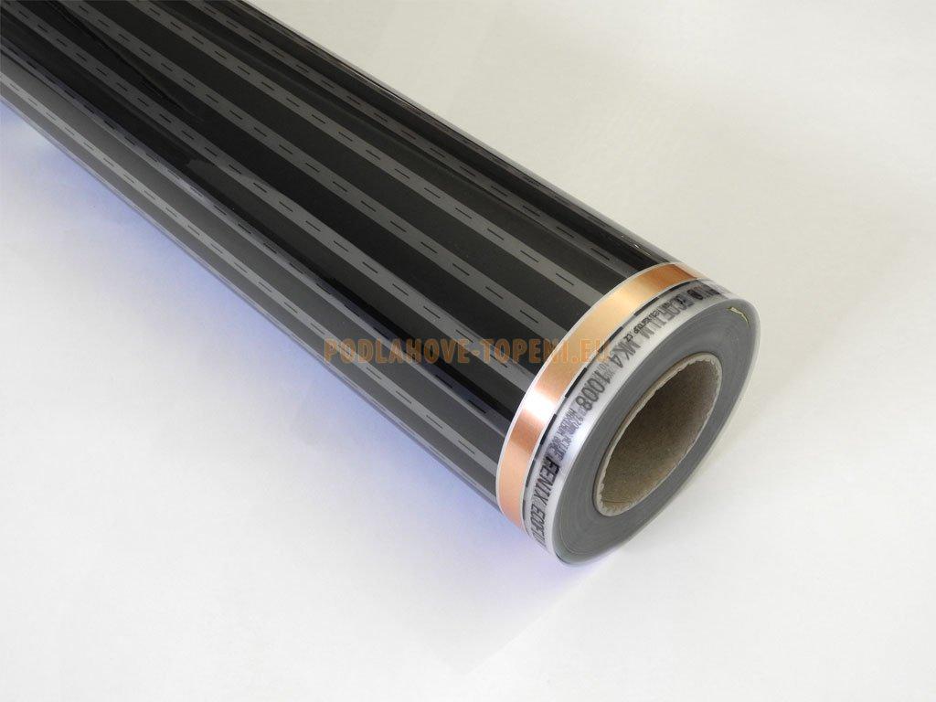 ECOFILM F 1004 - 40W/m2, šíře 1m, topná fólie pro podlahové vytápění