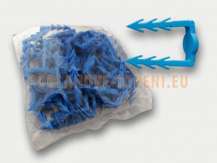 Příchytky topného kabelu pro ruční montáž, balení 50ks