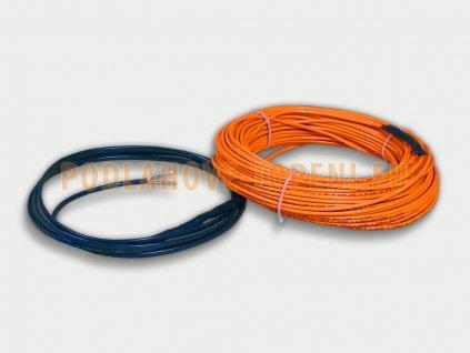 ADSV 10120 Topný kabel s ochranným opletením, 120W, 10W/m, 11,4m