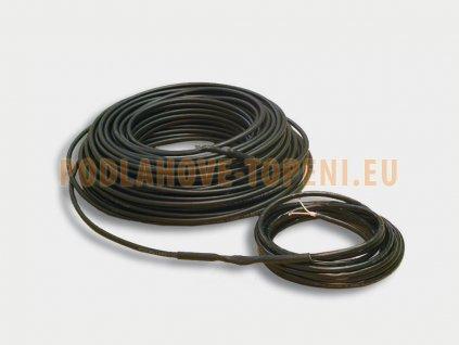 ADPSV 18160 Topný kabel s ochranným opletením, 160W, 18W/m, 8,5m