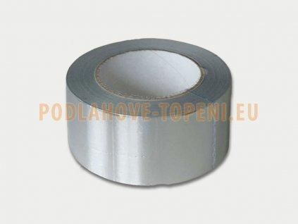 Samolepicí hliníková AL páska na potrubí 50m x 5cm, odolnost 150 °C