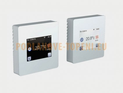 FENIX TFT WIFI (WHITE) Programovatelný termostat s dotykovým displejem pro podlahové vytápění