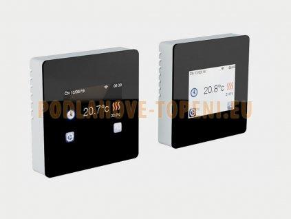 FENIX TFT WIFI (BLACK) Programovatelný termostat s dotykovým displejem pro podlahové vytápění