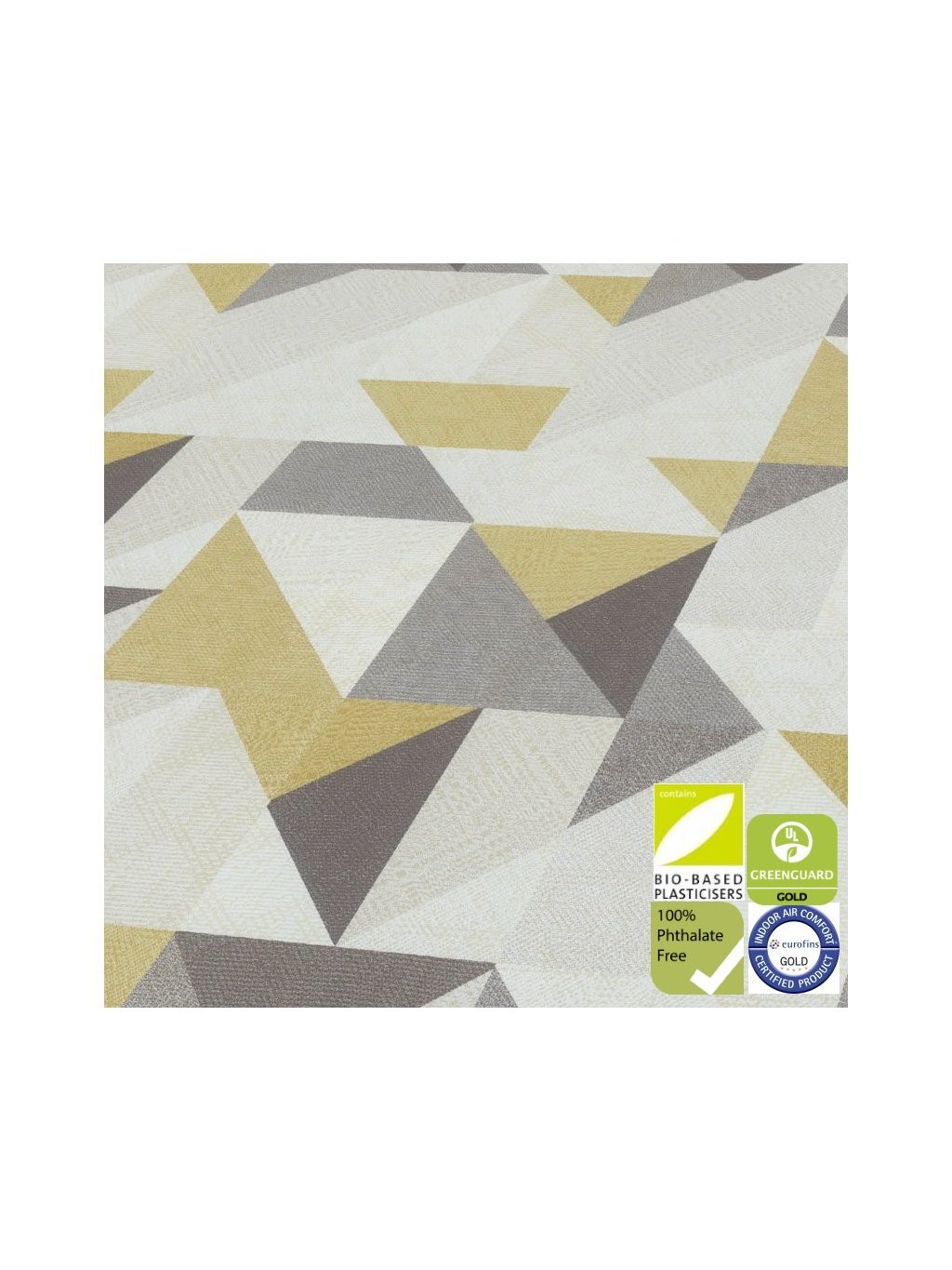 Expona Domestic 5849 Golden Geometric