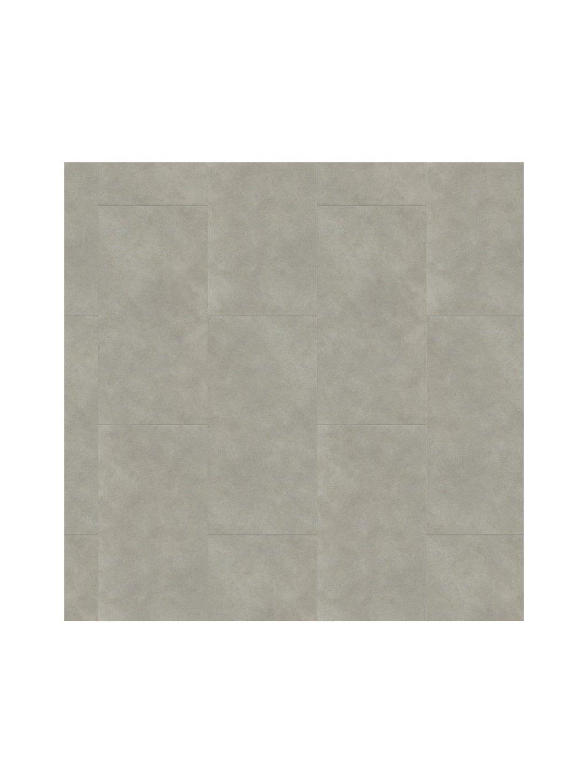Vinylová zámková podlaha s integrovanou akusticku podložkou Karndean Projectline Acoustic Click 55604 4V Beton světle šedý 2