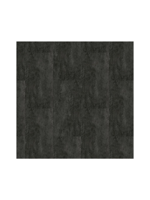 Vinylová zámková podlaha s integrovanou akusticku podložkou Karndean Projectline Acoustic Click 55605 4V Metalstone černý 2