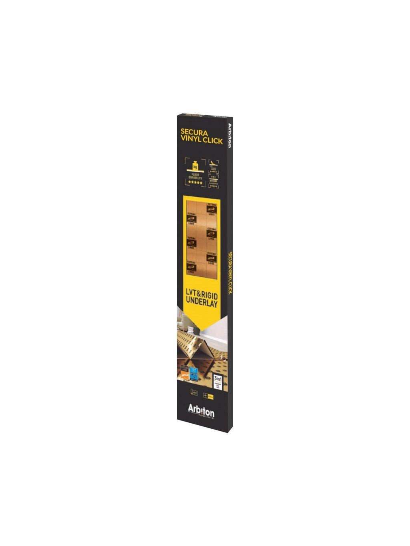Podložka pod vinylové a rigidní podlahy Arbiton Secura LVT Click Smart N 3in1
