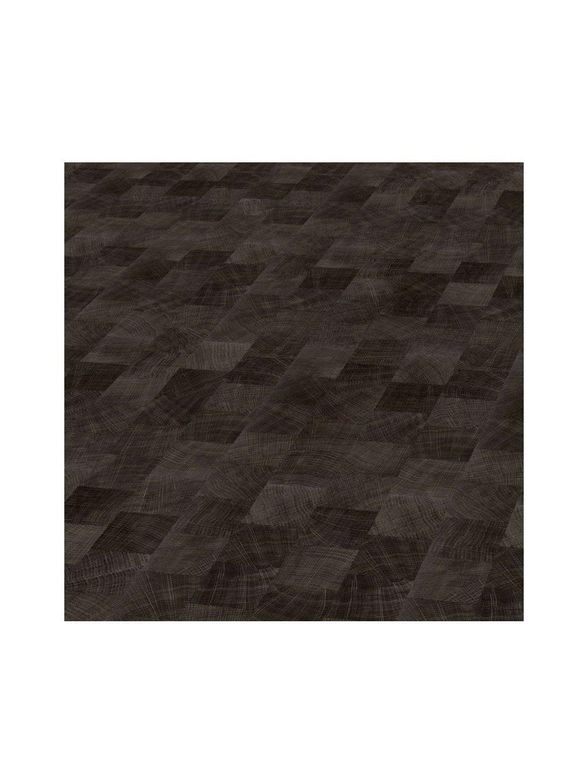 Lepené vinylové podlahy podlahy do obývacího pokoje Objectflor Expona Domestic C13 5843 Dark Endgrain Woodblock