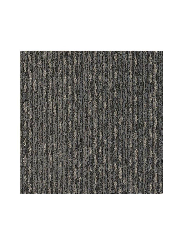 Šedý koberec kobercový čtverec Forbo Tessera In touch 3303 calligraphy
