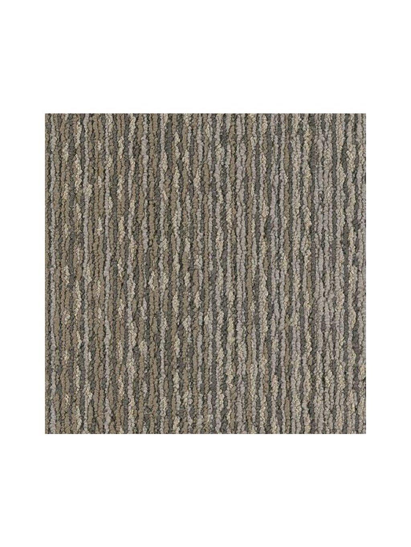Šedý koberec kobercový čtverec Forbo Tessera In touch 3305 origami