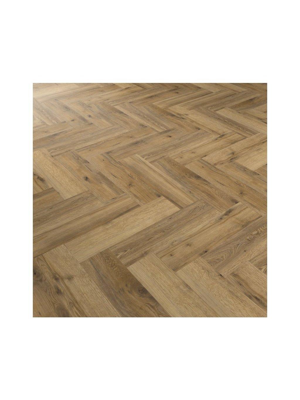 Vinylová lepená podlaha Objectflor Expona Commercial 4126 Eveglade Oak Parquet