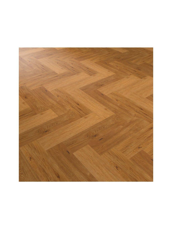 Vinylová lepená podlaha Objectflor Expona Commercial 4121 Saffron Oak Parquet