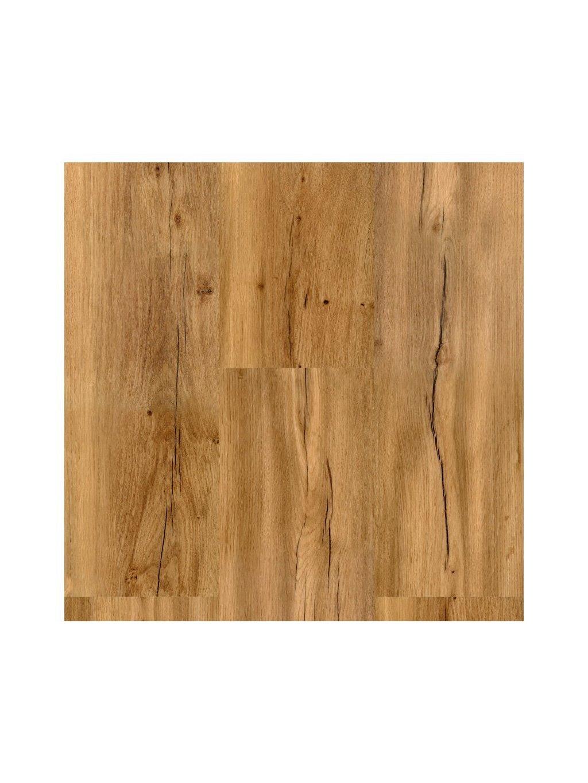 Vinylová podlaha plovoucí na kompozitní desce Aquafix Click 9523 Dub podzimní
