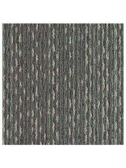 Šedý koberec kobercový čtverec Forbo Tessera In touch 3300 watercolour