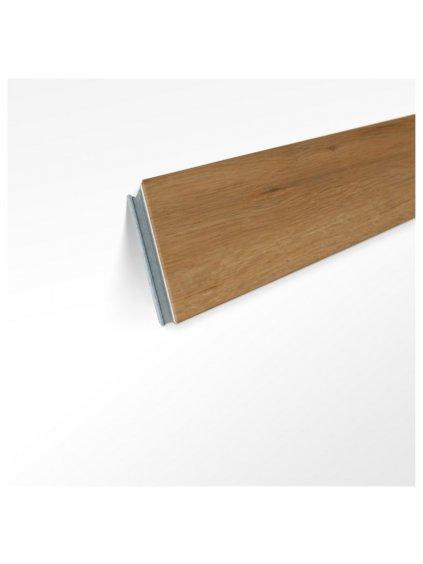 Originální soklová lišta zkosená K40 k podlaze Conceptline 30115 Dub rustikal zlatý