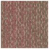 Červený koberec kobercový čtverec Forbo Tessera In touch 3309 embroidery