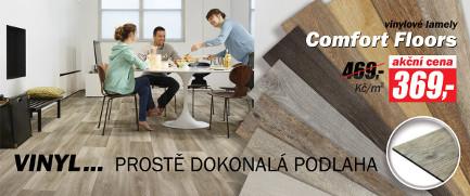 Vinylová podlaha v akci Comfort Floors