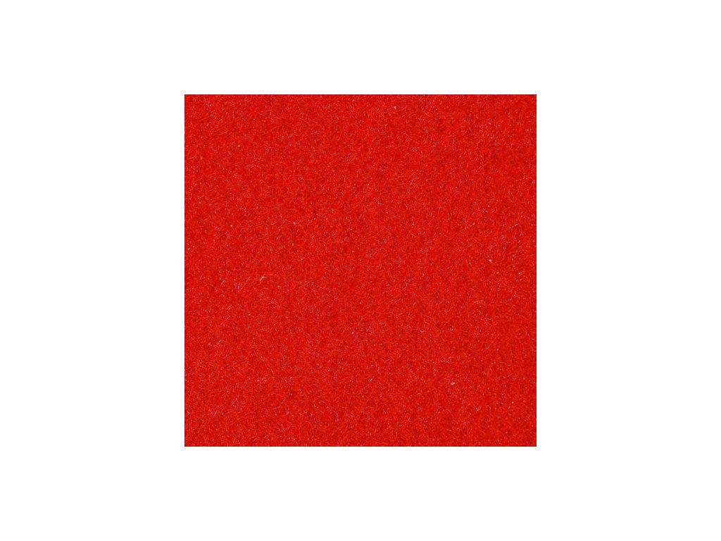 Svatební - slavností běhoun červený 1x5 m
