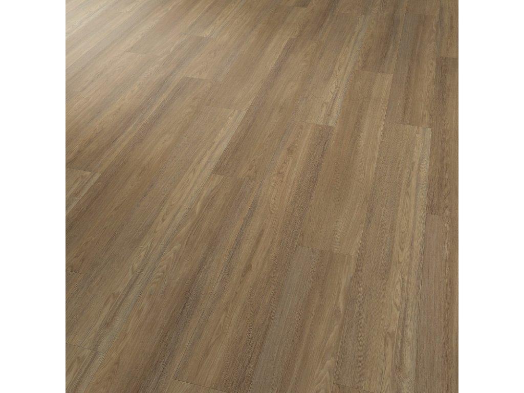 projectline 55202 4v dub kartacovany hnedy vinylova lepena podlaha