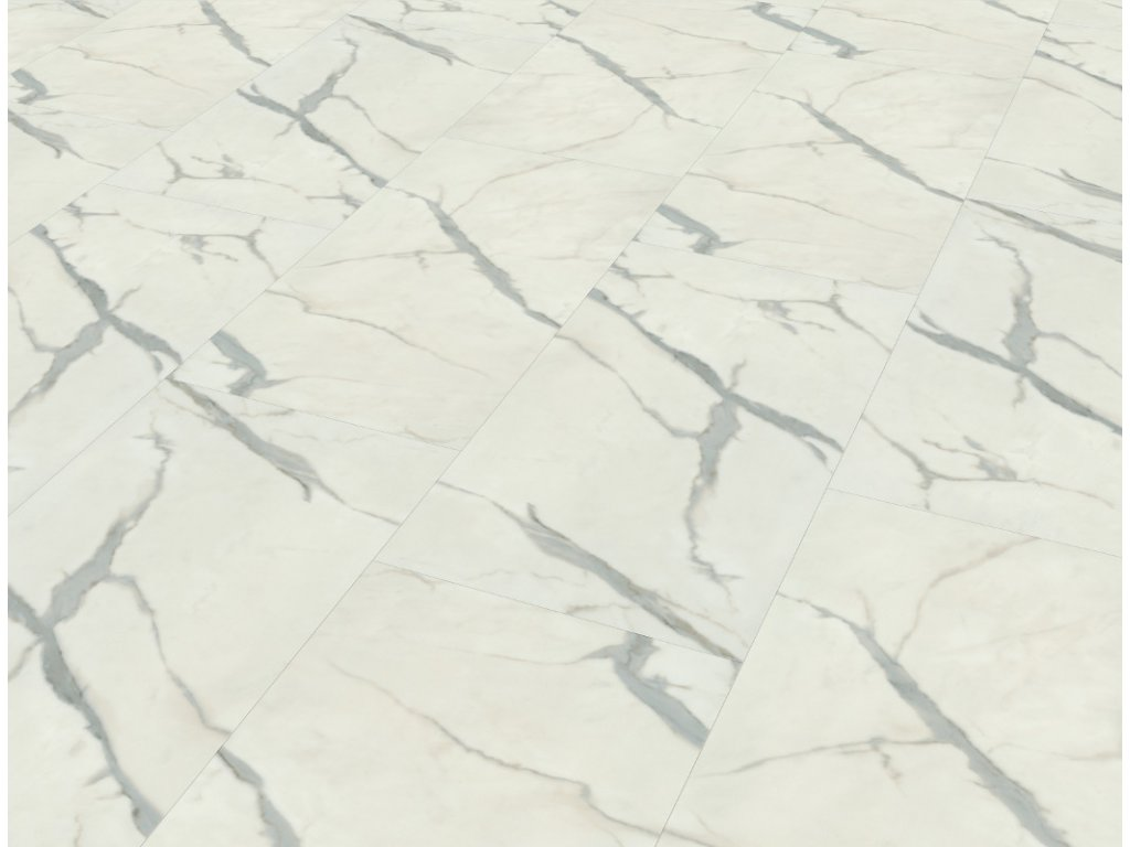 design stone marble white 9981 rigid click