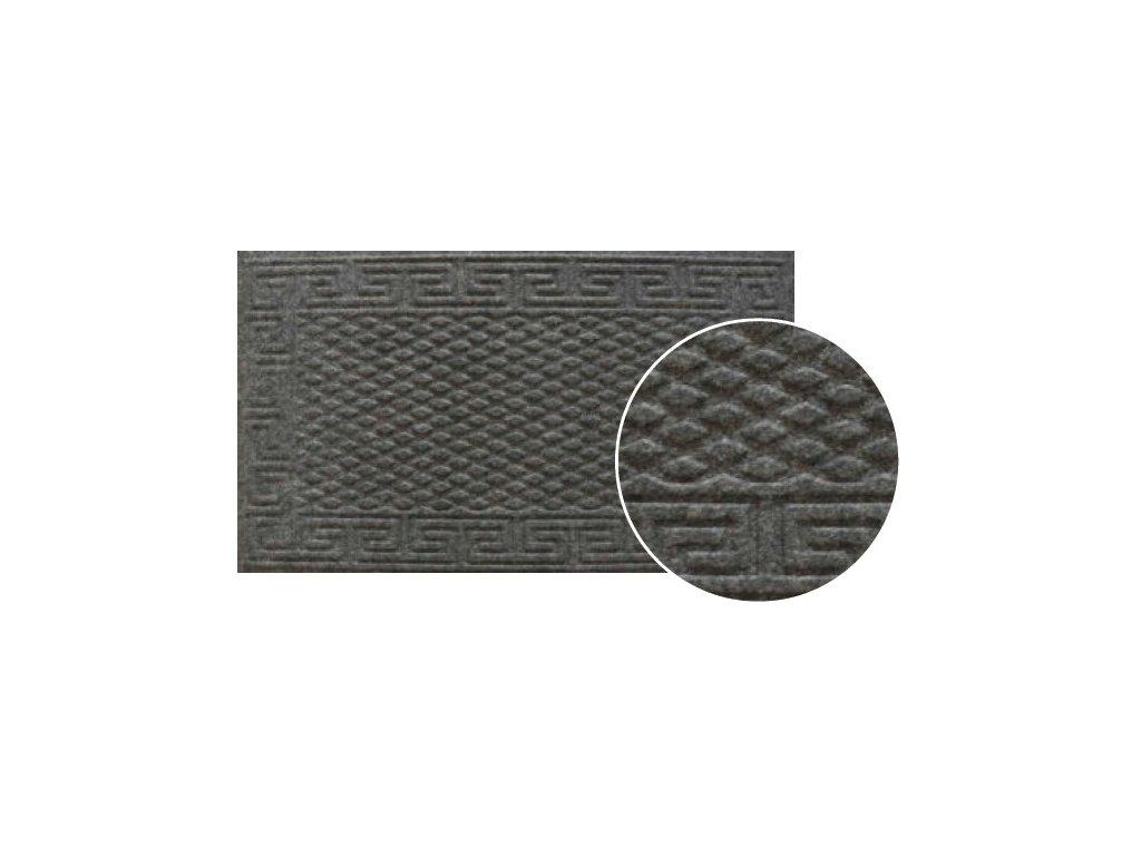 gumova rohozka klasik 40 x 70 cm cerna