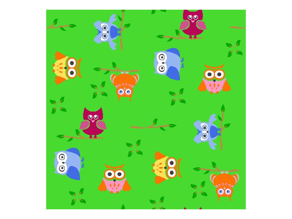 detsky koberec a1 coloro sovicka 5261